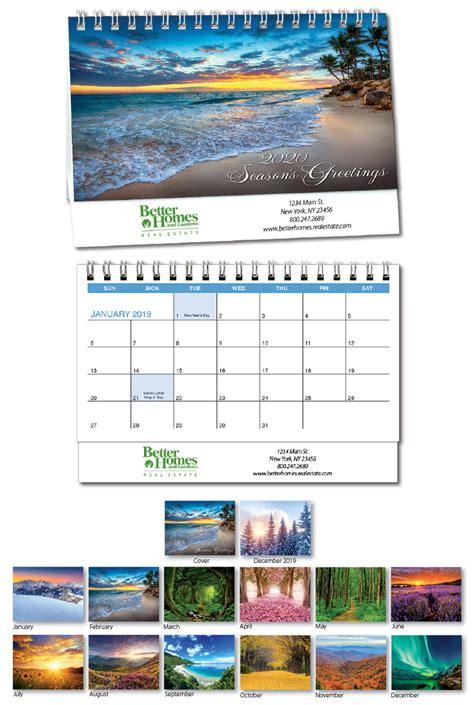 desk calendar cardplant