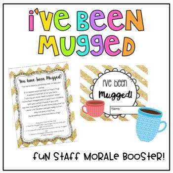 staff morale ive  mugged   gortons class tpt