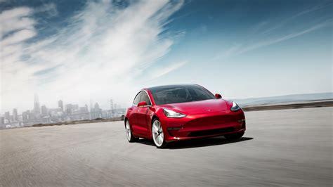 2018 Tesla Model 3 4k 3 Wallpaper
