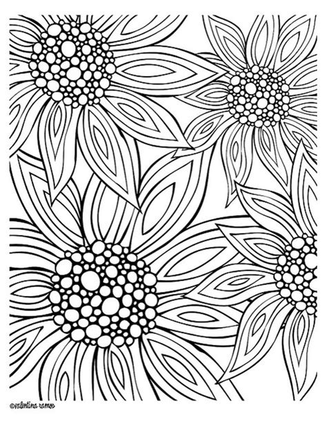 summer coloring pages for adults free printables