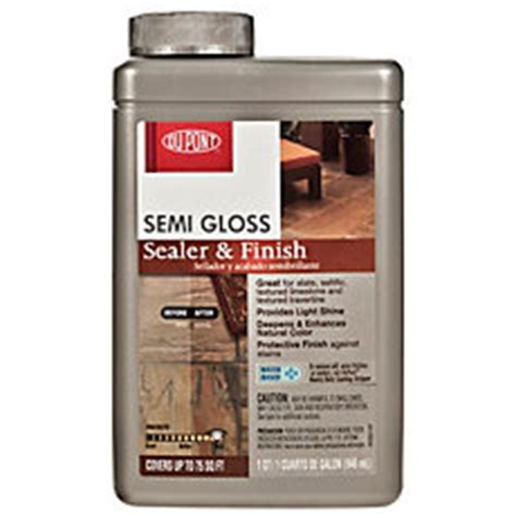 Dupont Tile Sealer Finish by Dupont Semi Gloss Sealer And Finish Floor And Decor