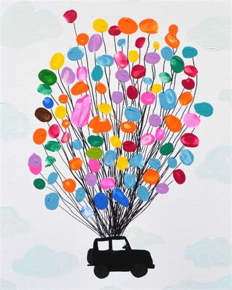 thumbprint art  kids allfreekidscraftscom