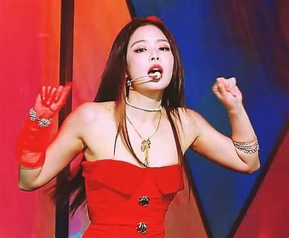 Jennie Blackpink Heart Kim Uploaded Visit Lisa