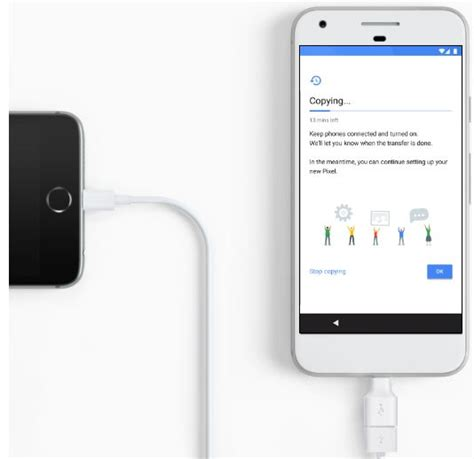 transfer pictures from iphone how to transfer data from iphone to pixel xl pixel