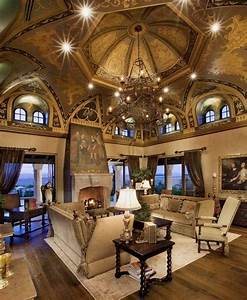 Luxury Homes Interior Designs Old World Style With Amazing ...