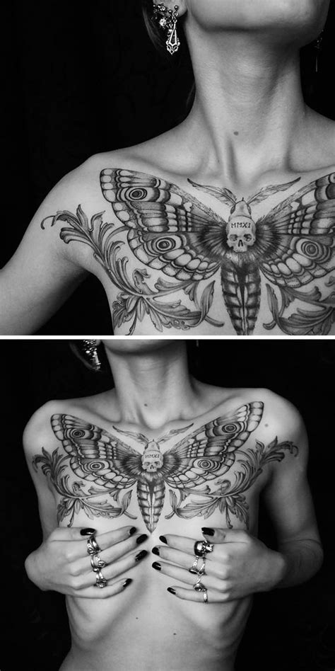 60 Best Chest Tattoos – Meanings, Ideas and Designs | Chest tattoo | Cool chest tattoos, Chest