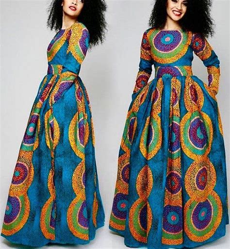 dress flare batik modern maxi dress with pockets by