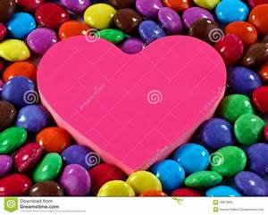 Candy And Heart Royalty Free Stock Photo - Image: 30873685