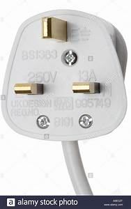 British Electrical Plug 13 Amp Live Neutral And Earth