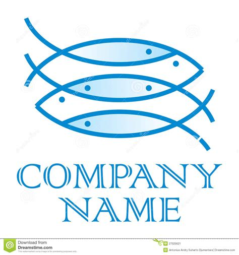 cuisine clipart fish logo stock image image 27025621