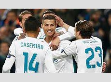 Hasil Pertandingan Liga Champions Real Madrid vs Paris