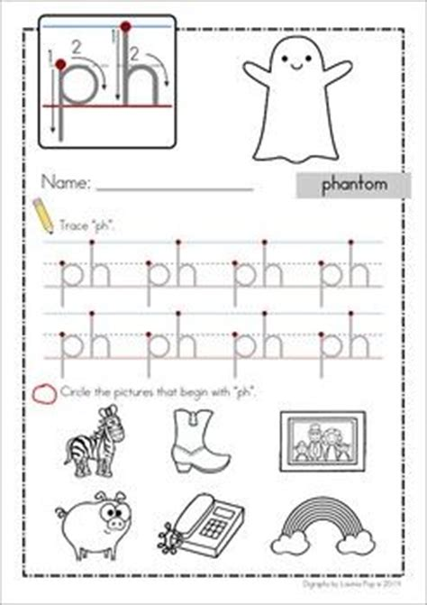 ph digraph word work unit activities the o jays and