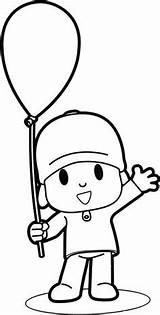 Pocoyo Colorir Desenhos Pintar Imprimir Desenho Dibujos Infantis Coloriage Riscos Ligne Coloring Disegni Colorare Moldes Educar Espaco Frais Colorear Menino sketch template