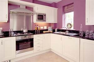 19 kitchen wall decor ideas designs design trends With kitchen colors with white cabinets with lavender fields wall art