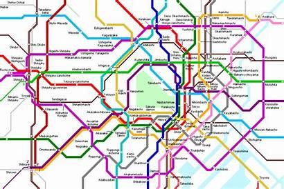 Tokyo Metro Map Maps Subway Tokio Mapa