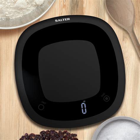 salter waterproof washable digital kitchen scales black