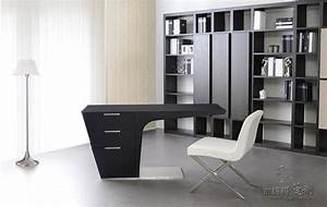 Elegant L Shape Leather Modern Executive Desk Office Table ...