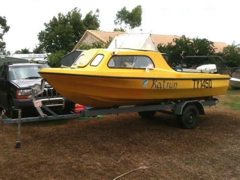 Boat Trailers For Sale Launceston by Half Cabin Boats For Sale Australia