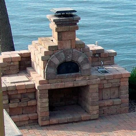chicago brick oven  wood fired pizza oven kit