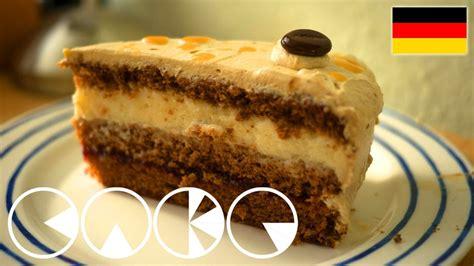 eierlikoer mokka torte rezept youtube