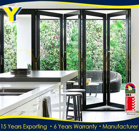 folding patio doors prices frosted glass accordion doors