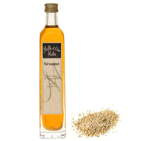 huile de sesame en cuisine huile sésame sésame huile