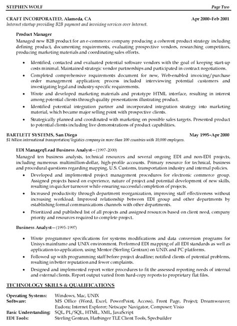 sle resume workopolis