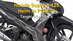 Honda Supra X 125 Helm In Pgm Fi Harga Dan Spesifikasi