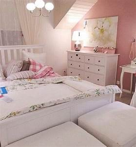 Ikea hemnes bedroom strandkrypa emmie ruta ikea for Girls room ikea
