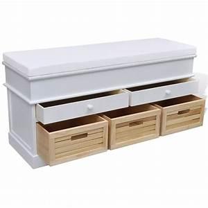 Banc Avec Rangement : la boutique en ligne banc de rangement avec 3 cagettes et ~ Melissatoandfro.com Idées de Décoration