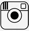 Instagram Logo Clipart Black And White - Instagram Logo ...