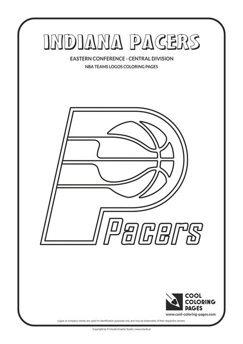 Detroit Pistons Free Colouring Pages