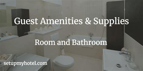 hotel bathroom essentials home sweet home modern