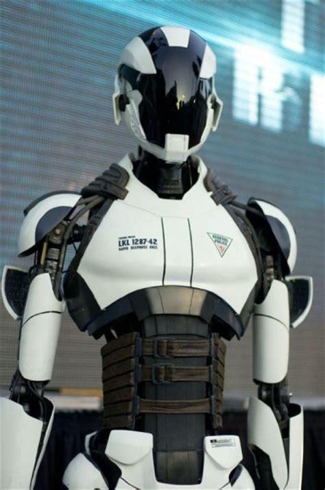 stunning  futuristic  robot character designs