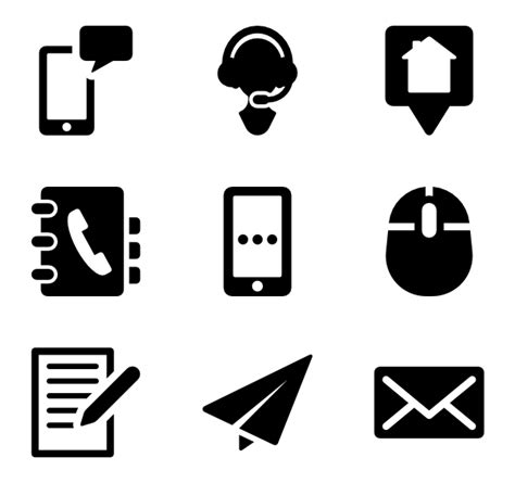 Email Symbol For Resume by Email Icons 5 523 Free Vector Icons