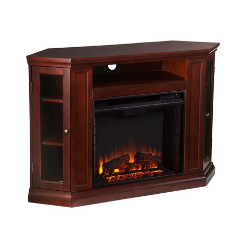 electric media fireplace claremont convertible media electric fireplace cherry