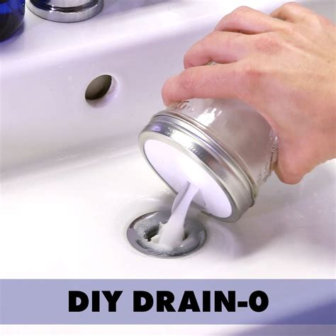 Clean Bathroom Sink Drain Naturally by Unclog Drains Without Scary Chemicals Nifty Hacks