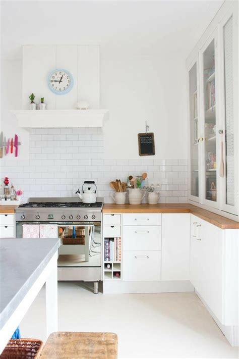 cuisine am ag contemporaine cuisine blanche contemporaine en 75 jolies photos