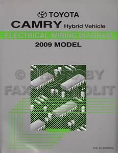 2007 Toyota Camry Hybrid Wiring Diagram Original