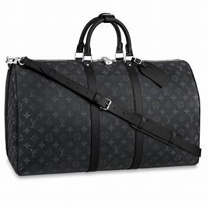 Louis Vuitton Weekender : louis vuitton keepall duffle lv eclipse canvas leather m40605 bandouli re 55 black weekend ~ Watch28wear.com Haus und Dekorationen