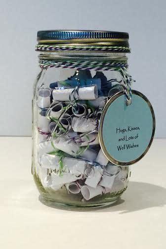 message filled mason jar jars masons   ojays