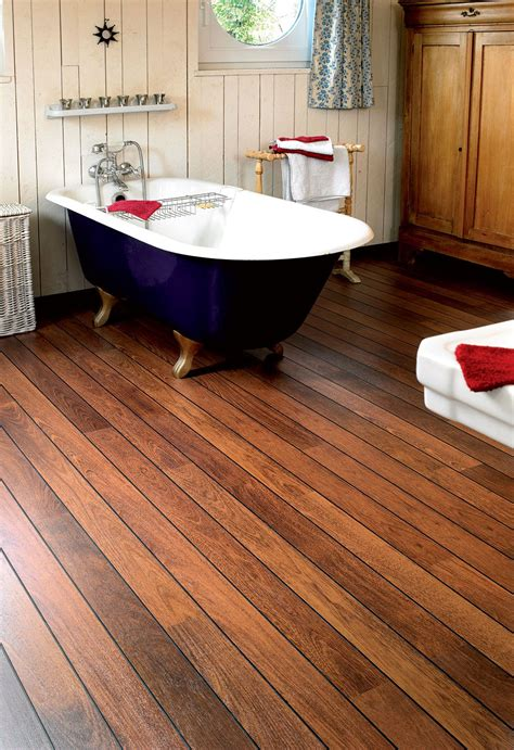 Quickstep Bathroom Flooring by Step Lagune Merbau Shipdeck Ur1032 Laminate