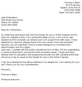 cover letter for resume law