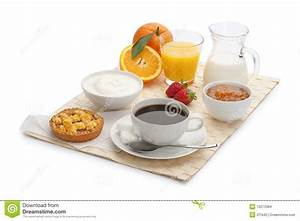 Continental breakfast stock photo. Image of breakfast ...