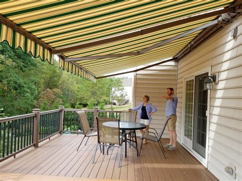 retractable awnings  canada retractable awning store