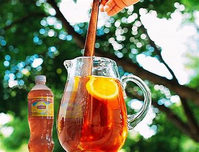 Tea Iced Drink Sweet