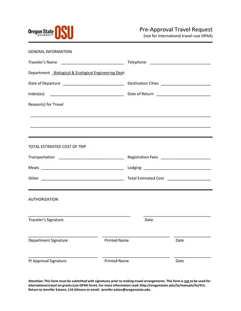 approval forms travel request  approval form