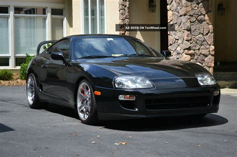 1998 Toyota Supra Turbo by 1998 Toyota Supra Turbo Hatchback 2 Door 3 0l