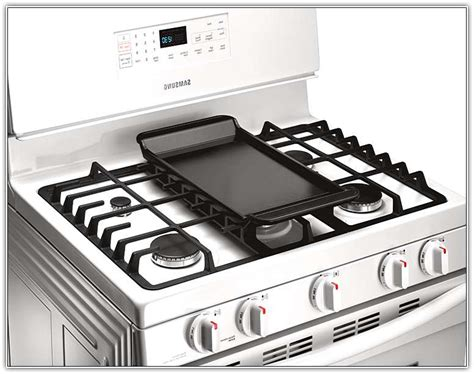 Gas Stove With Grill Top View Griddle Intended For