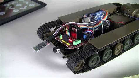 arduino uno diy project rc tokyo marui tank  bluetooth